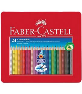 Lapices acuarelables ecolapices triangular 24u. faber castell 112423