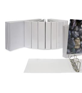 Carpeta canguro basic 2 anillas a4 16mm blanco grafolioplas 02335570 - 220379