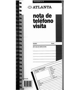 Cuaderno 250h telefono/visitas mensajes atlanta a5409.500 - 02066-1