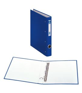 Carpeta 4an-25mm a4 azul carton forrado oficolor dohe 90161