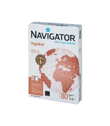 Papel a4 500h 80grs multifuncion taladrado navigator - 741371