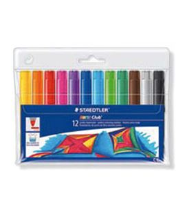 Rotulador esc watercolour 340 12 colores staedtler 340 wp12