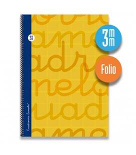 Cuaderno fº 3mm 80h 70g t.dura naranja lamela 7fte003n 53728 - 7FTE003N