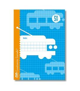 Cuaderno 4º 5mm 16h 70g cuadrovia lamela 05005