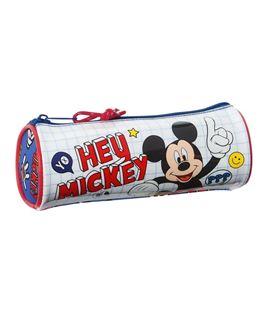 Estuche vacío redondo mickey mouse things safta 812014026