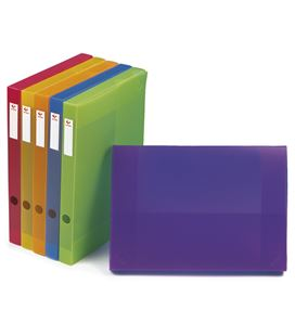 Carpeta proyecto folio 3cm polipropileno azul grafolioplas 37231230