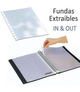 Fundas carpeta extraible folio 10u. grafolioplas 39400400