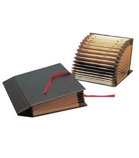 Clasificador acordeon fuelle cuarto a-z/1-31 negro grafolioplas 02920010 - 02920010