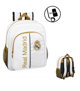 Mochila junior adap carro real madrid 1ª equip 19/20 safta 611954640 - 611954640