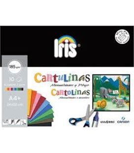 Cartulinas iris 185gr 24x32 mini pack 10 h surtidas guarro 200406282