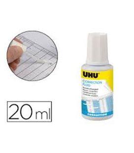 Corrector liquido pincel 20ml uhu 50450 - 50450