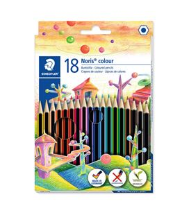 Lapicero lapizs color noris colours cj.18 uds surtidos staedtler 185 c18 29893