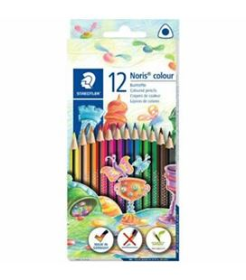 Pintura madera triangular 12u noris colour staedtler 187 c12