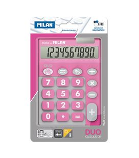 Calculadora 10 dig touch duo rosa blister milan 150610tdpbl