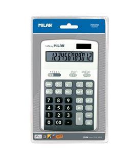 Calculadora 12 dig gris blister milan 150712gbl