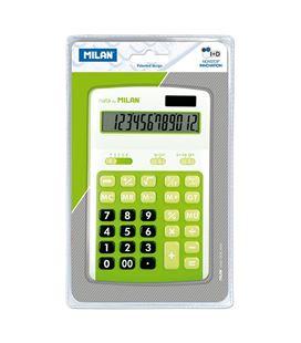 Calculadora 12 dig verde blister milan 150712grbl