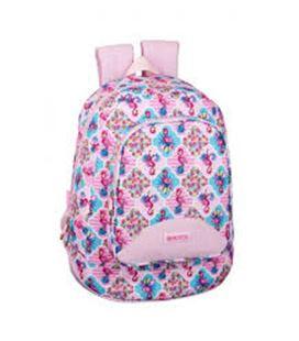 Mochila daypack moos flamingo pink safta 611922572 - 611922572