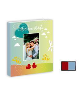 Libro boda huellas + tampom arguval 43247 - 43247