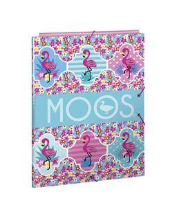 Estuche vacío simple moos flamingo turquoise safta 811918742 - 811918742