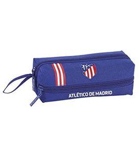 Estuche vacío tres cremalleras atletico madrid in blue safta 811945823