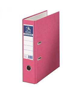 Archivador palanca folio 70mm rosa claro archicolor dohe 90212