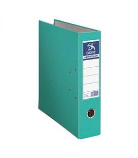 Archivador palanca folio 70mm verde claro archicolor dohe 90211