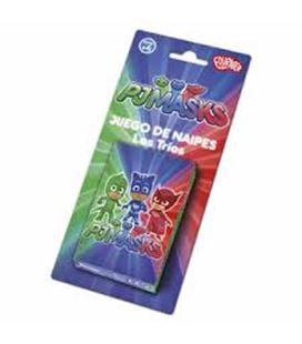 Baraja infantil 40 cartas pjmasks fournier 1040723 - 1040723