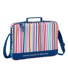 Cartera extraescolar bennetton color lines safta 611828385 - 611828385