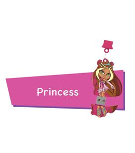 Memoria usb 16gb princess cartoon pryse 90052
