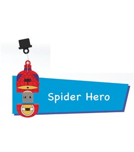 Memoria usb 16gb spider hero pryse 90056 - 90056