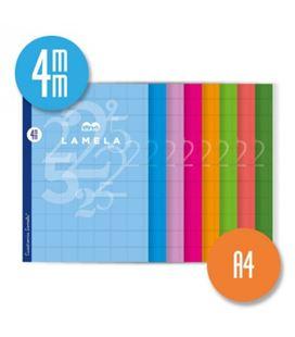 Cuaderno a4 4mm 50h 70g cuadrovia lamela 06a4004