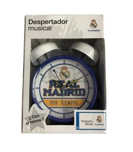Despertador musical real madrid cyp dm-11-rm - DM-11-RM