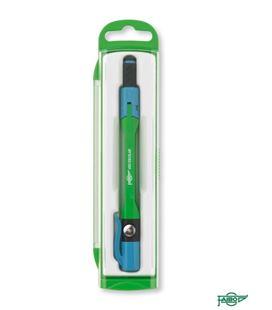 Compas pen escolar metalico azul faibo 911-07 - 911-04