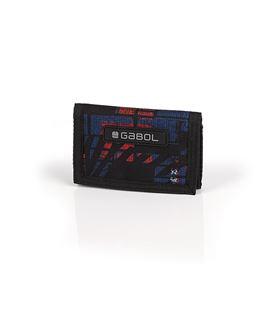 Cartera monedero azul y rojo gabol 220508099 - 220508099
