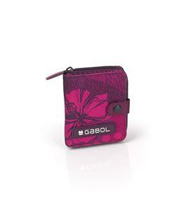 Monedero cartera rosa flores gabol 219988099 - 219988099
