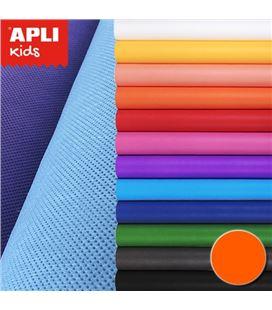 Rollo efecto tela naranja dressy bond 80cmx3mt apli 15197
