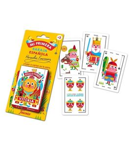 Baraja infantil 42 cartas mi primera baraja fournier 1030939 - 1030939