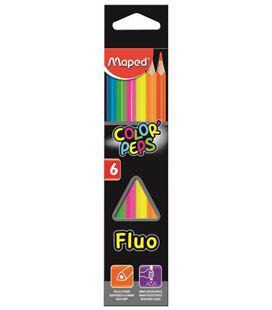 Pintura madera fluor 6 unidades color´peps maped 832003