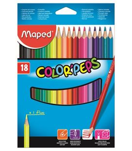 Pintura madera 18 colores maped 183218 - 183218_PA_BOX