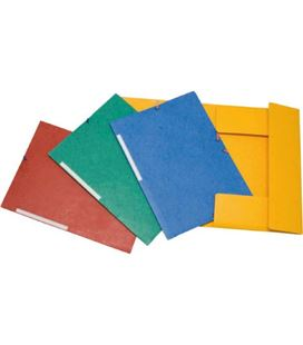 Carpeta gomas solapa folio colores surtidos grafolioplas 049000
