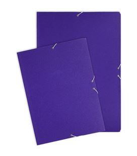 Carpeta goma solapa cuarto carton azul grafolioplas 04913130