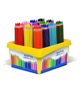 Pintura madera maxi school pack.108u giotto 523500