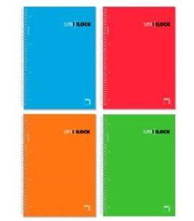 Cuaderno a4 5x5 160h 90grs microperfoliorado pacsa 16441