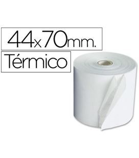 Papel termico 44mmx70mts 10 unidades q-connect kf00856 - 35091