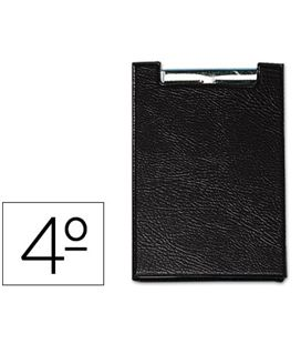 Carpeta 4º miniclip negro saro 160-ne - 31287