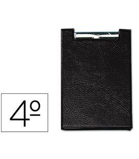 Carpeta cuarto miniclip negro saro 160-ne - 31287