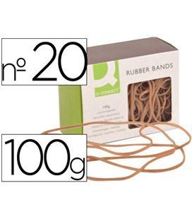 Goma elastica 200mm 100grs caja liderpapel kf15048 - 54318