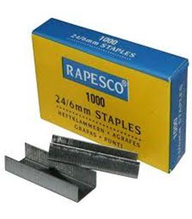 Grapa 22/6-24/6 standard galvanizada rapesco 9fs24607z3 025096