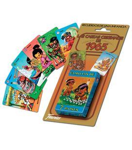 Baraja infantil 42 cartas familias de 7 paises foliournier 21966 - 21966-FAMILIAS_7_PAISES