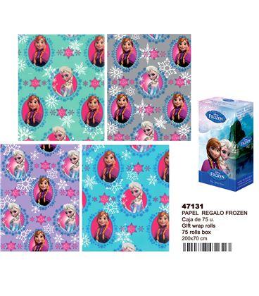 Papel regalo 70cmsx2mts frozen montichelvo 47131 47130 - 47131